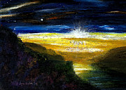 Lyn Deutsch Art - Morning Stars by Lyn Deutsch