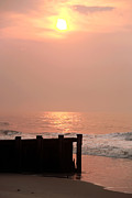 Lbi Posters - Morning Sunrise at LBI Poster by John Rizzuto