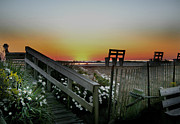 Benches Photos - Morning View  by Skip Willits