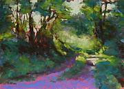 Pathway Pastels - Morning Walk II by Mary McInnis