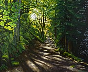 Wooded Originals - Morning Walk by Scott Worden