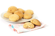 Moroccan Photos - Moroccan biscuits by Tom Gowanlock