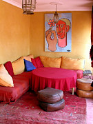 Moroccan Framed Prints - Moroccan decor Framed Print by Sophie Vigneault