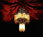 Chandelier Prints - Moroccan Glow Print by Slade Roberts