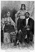 Moroccan Framed Prints - MOROCCAN JEWS, c1892 Framed Print by Granger