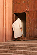 Moroccan Photos - Moroccan Man by Tom Gowanlock