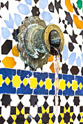 Moroccan Framed Prints - Moroccan tap Framed Print by Tom Gowanlock