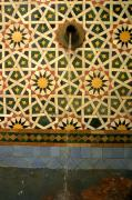 Fez Photos - Moroccan Water Fountain by Ralph Ledergerber