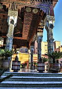 Morocco Architecture II Print by Chuck Kuhn