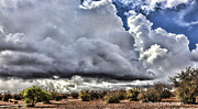 Rabat Photos - Morocco Clouds II by Chuck Kuhn