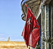 Rabat Photos - Morocco Flag I by Chuck Kuhn