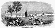 Moroccan Framed Prints - Morocco: Marrakech, 1859 Framed Print by Granger