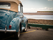 Pei Metal Prints - Morris Minor Tourer Metal Print by Edward Fielding
