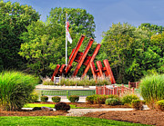 Wtc 11 Art - Morris Plains September 11th Memorial by Nick Zelinsky
