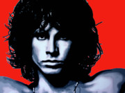 Jim Morrison Paintings - Morrison by Luis Ludzska