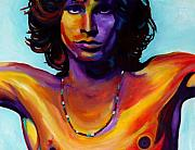 Jim Morrison Paintings - Morrison by Vel Verrept