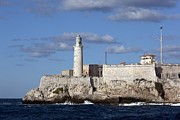 El Morro Photos - Morro Castle In Havana Cuba Guarded by Everett
