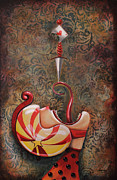 Circus Framed Prints - Mortale Framed Print by Fabrini Crisci