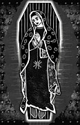 Clip-art Digital Art - Morticia Guadalupe by Travis Burns