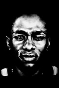 Bdcurran Drawings - Mos Def by Brian Curran