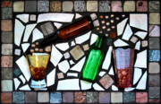 Shot Glass Prints - Mosaic Print by Kristin Elmquist
