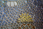 Mosaic Mixed Media - Mosaic Sunset by Anne Babineau