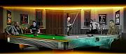 Pool Mixed Media - Mosconi Wants to Play by Draw Shots