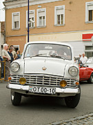 Valuable Photo Prints - Moscovich old car Print by Odon Czintos