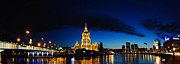 Eduard Kraft - Moscow Night Panorama