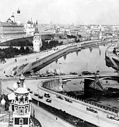 White River Scene Prints - Moscow Russia - c 1902 Print by International  Images