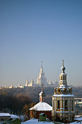 Moscow Photos - Moscow. Sparrow (lenin) Hills by Boris SV