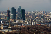 Moscow Photos - Moscow View by Vladimir Zakharov
