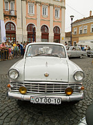 Valuable Photo Prints - Moscvich old car Print by Odon Czintos