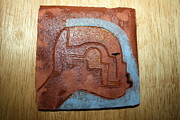 Africa Ceramics Ceramics - Moses - tile by Gloria Ssali