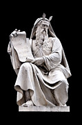 Immaculate Metal Prints - Moses Metal Print by Fabrizio Troiani
