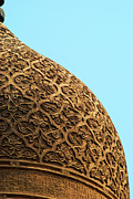 Middle East Posters - Mosque Dome Poster by Photo taken by Emad Omar