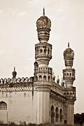Qutb Posters - Mosque from the 16th century Poster by Neha Singh