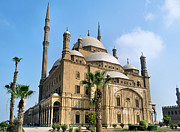 Middle East Photo Posters - Mosque Of Mohammad Ali Poster by Michelle McMahon