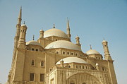 Middle East Framed Prints - Mosque Of Muhamed-ali Framed Print by Photography by Huey Yoong (www.hueyyoong.com)