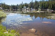 Ebbetts Pass Prints - Mosquito Lake Print by Peter Dyke