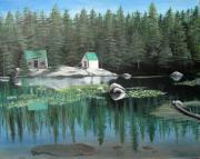 Ebbetts Pass Prints - Mosquito Lakes Print by Michelle Young