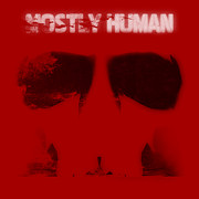 Stencil Digital Art Posters - Mostly Human 1 Poster by Pixel Chimp