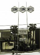Tv Commercial Posters - Motel   No Vacancy One Night Stand Discount Available Poster by Mark Hendrickson