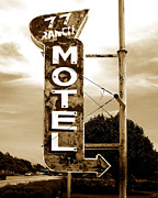 Antique Photo Originals - Motel 77 by Ann Powell