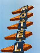 Motel Metal Prints - Motel Metal Print by Matthew Bamberg
