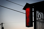 Tombstone Photos - Motel by Shane Rees