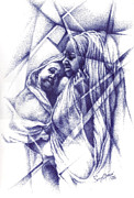 Maid Drawings - Mother and Child by Ajayi Seyi
