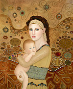 B K Lusk - Mother and Child