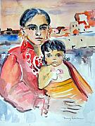 Daughter Originals - Mother and Child by Mindy Newman