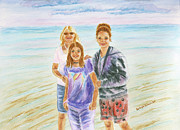 Kathryn Duncan - Mother and Daughters in...